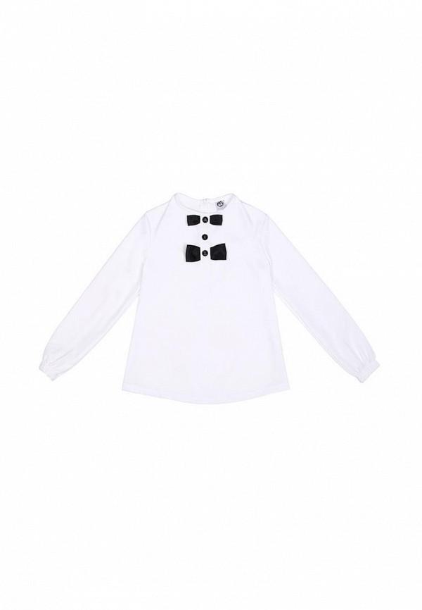 блузка timbo для девочки, белая