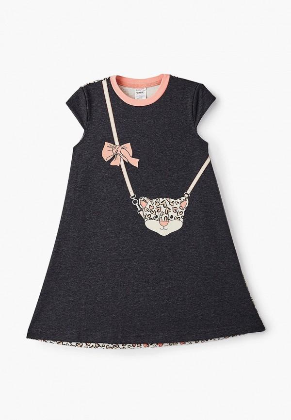 Платья для девочки КотМарКот цвет серый