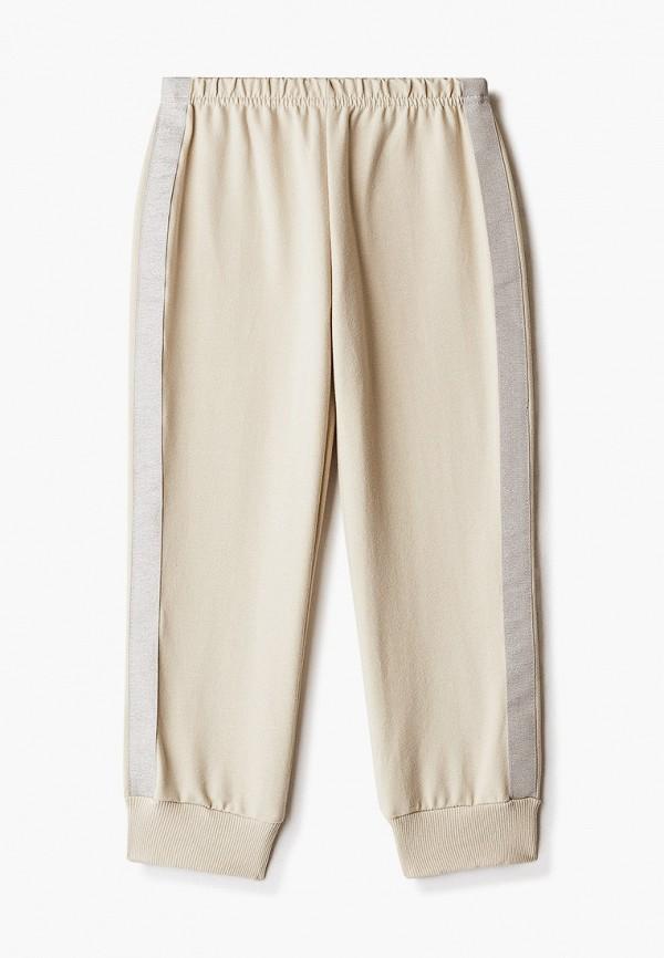 спортивные брюки котмаркот для девочки, бежевые