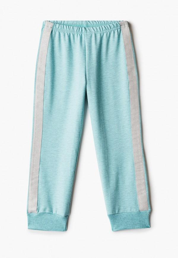 спортивные брюки котмаркот для девочки, бирюзовые