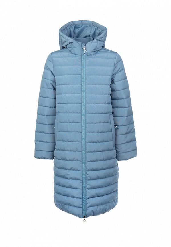 утепленные куртка playtoday для девочки, синяя