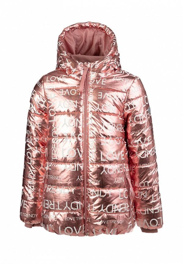 утепленные куртка playtoday для девочки, розовая