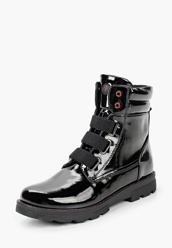 Ботинки для девочки T.Taccardi цвет черный  Фото 2