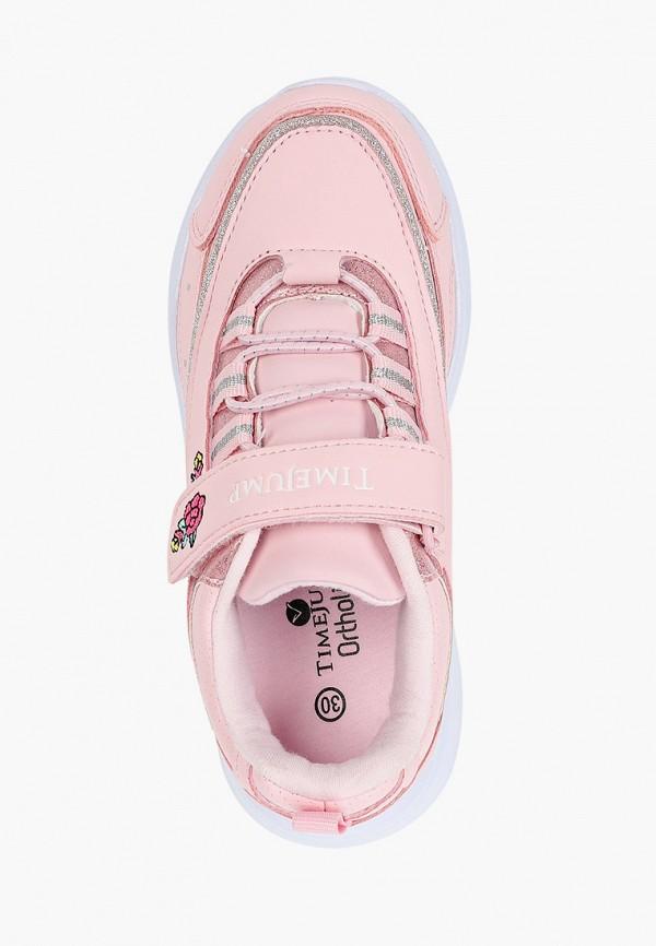 Кроссовки для девочки TimeJump цвет розовый  Фото 4