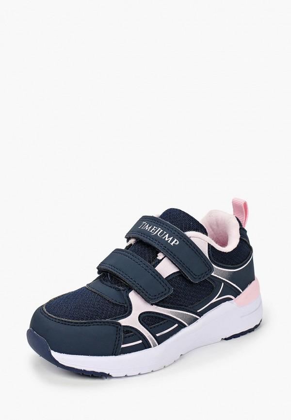 Кроссовки для девочки TimeJump цвет синий  Фото 2