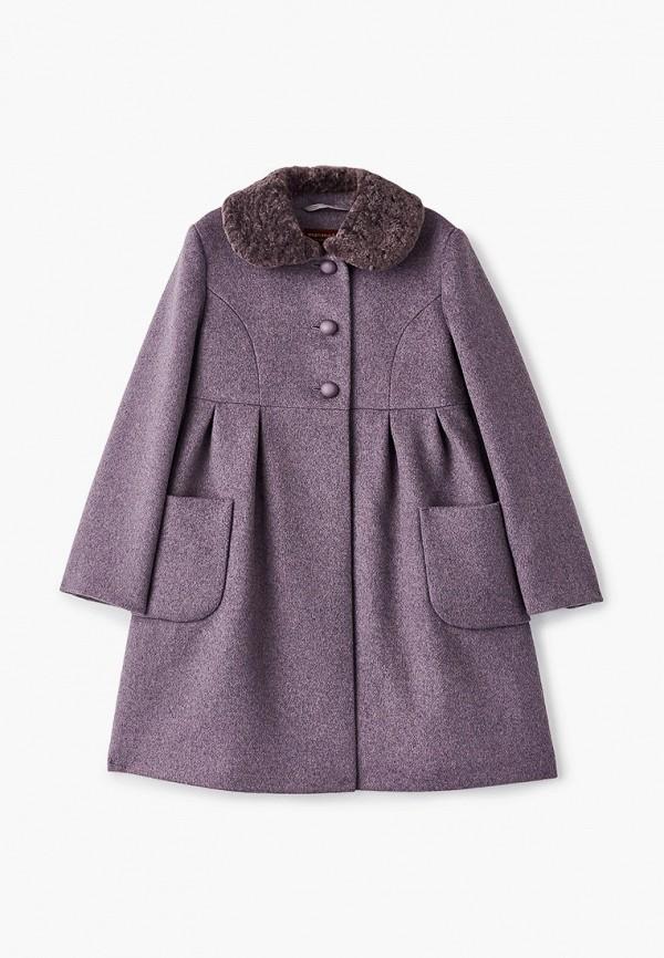 Пальто Mamma Mila! Mamma Mila!  фиолетовый фото