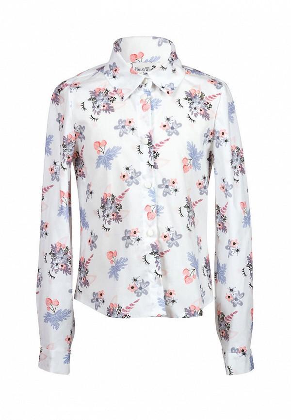 рубашка fansyway для девочки, белая