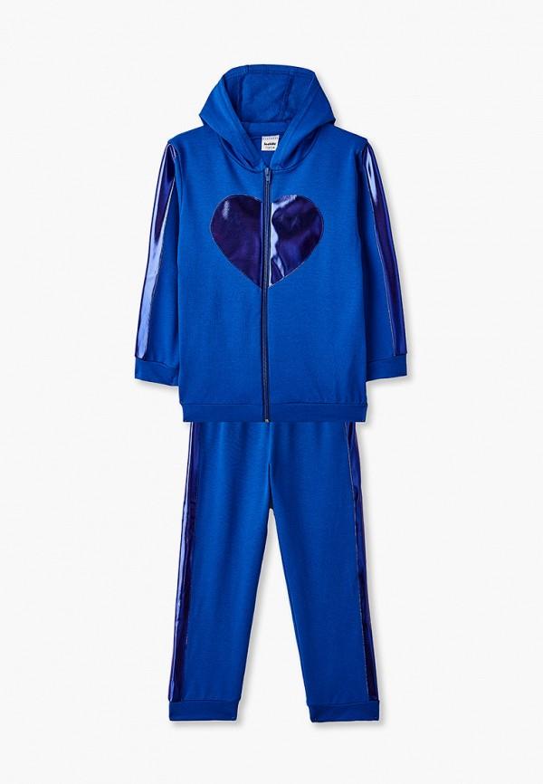 спортивный костюм looklie для девочки, синий