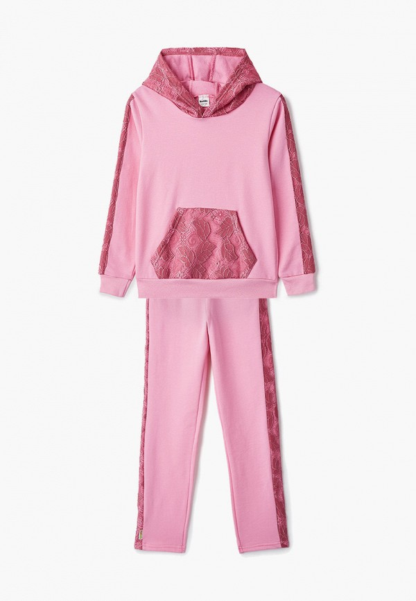 спортивный костюм looklie для девочки, розовый