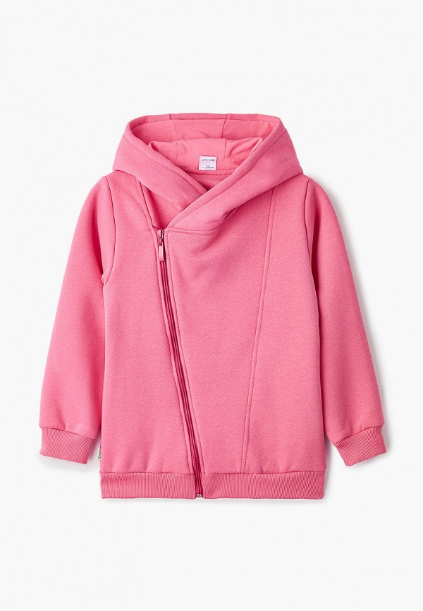 толстовка looklie для девочки, розовая
