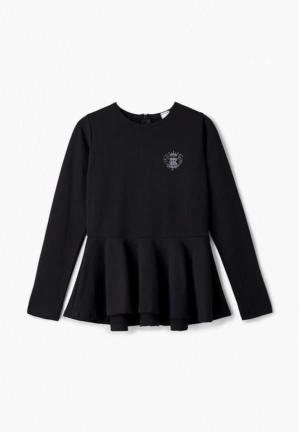 блузка looklie для девочки, черная