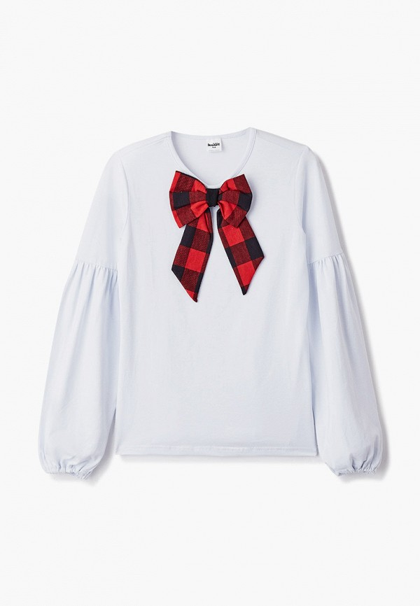 блузка looklie для девочки, белая