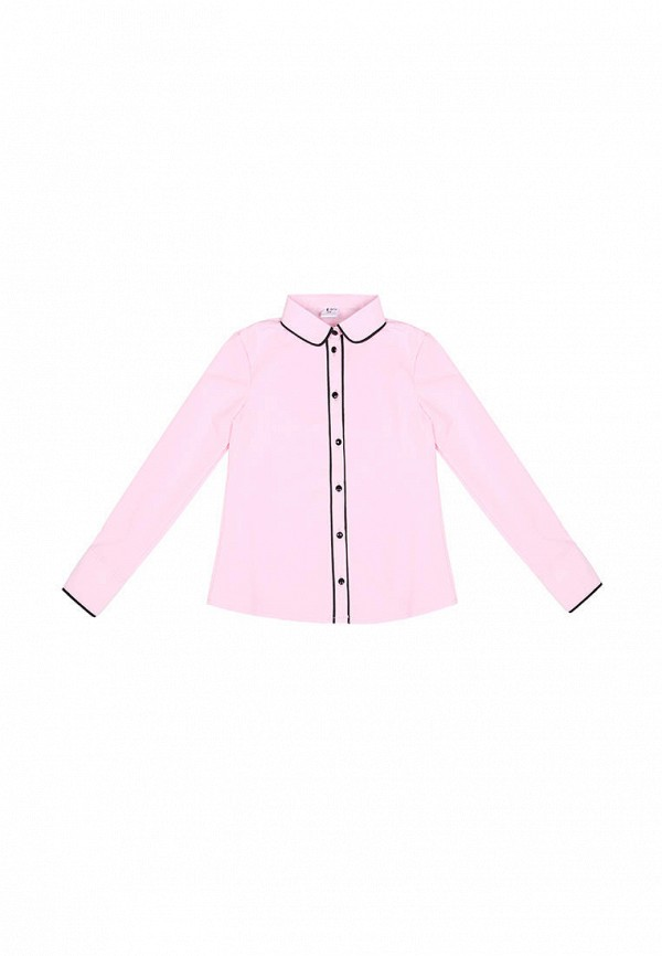 блузка timbo для девочки, розовая