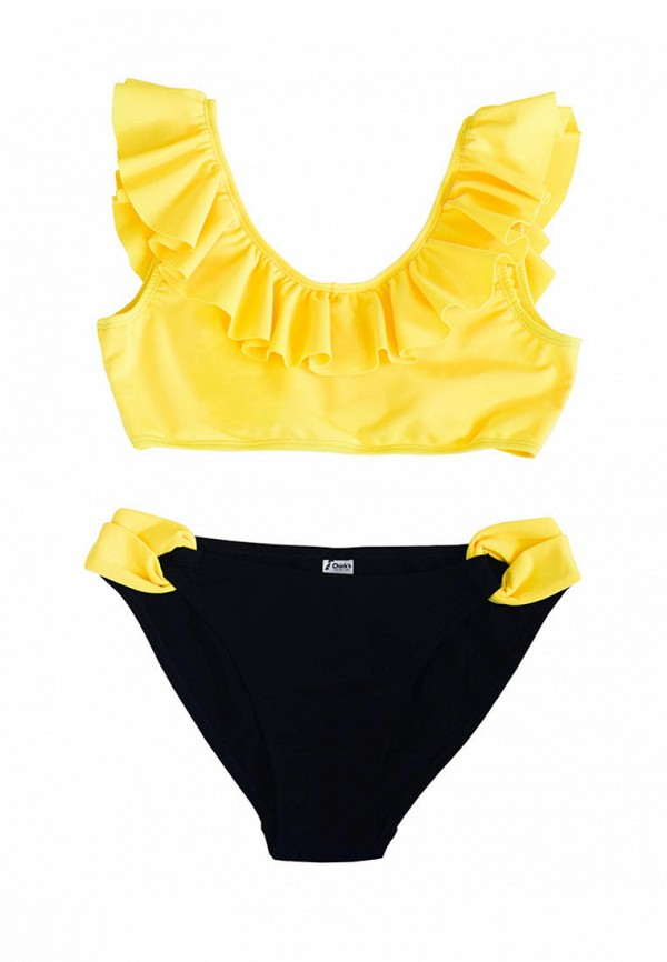 купальник chirks для девочки, разноцветный