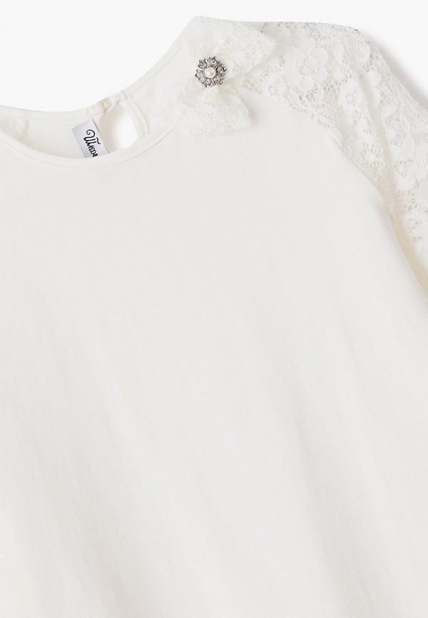 Лонгслив для девочки Школьная Пора цвет белый  Фото 3