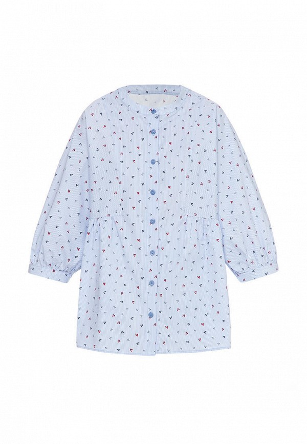 блузка i am для девочки, голубая