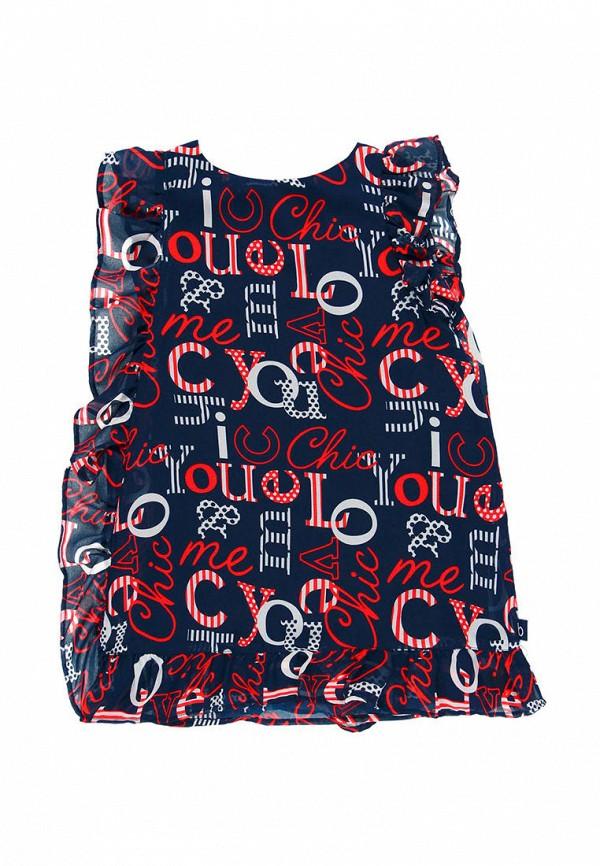 повседневные платье boboli для девочки, синее