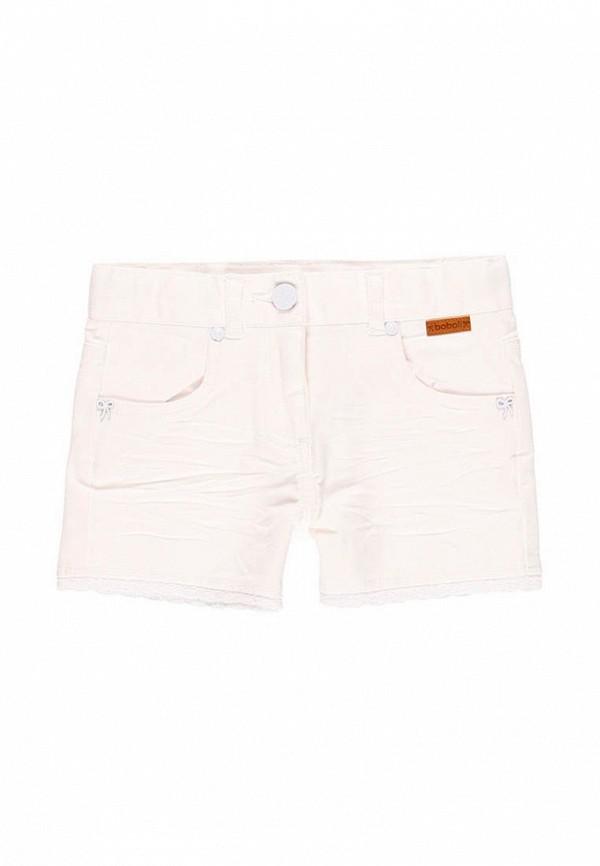 шорты boboli для девочки, белые