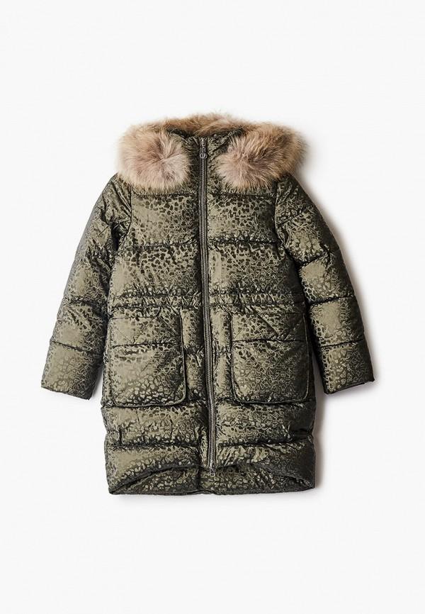 утепленные куртка fobs для девочки, хаки