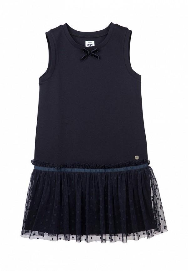 повседневные платье playtoday для девочки, синее