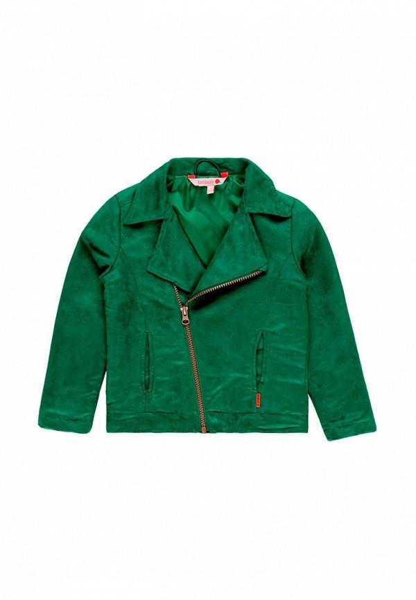 куртка boboli для девочки, зеленая