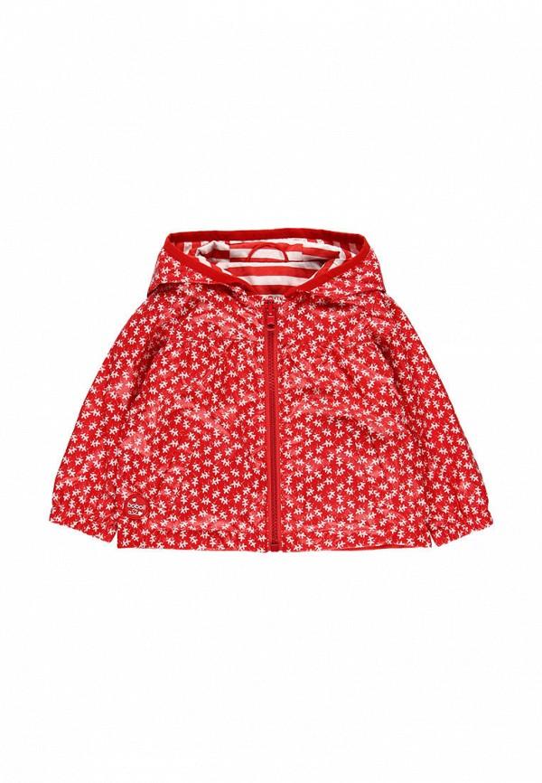куртка boboli для девочки, красная