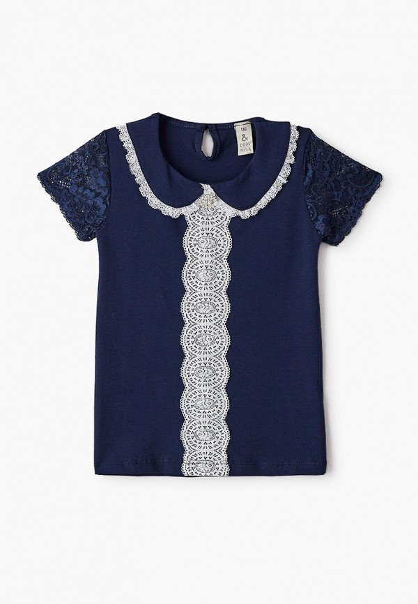 Блуза Соль&Перец цвет синий