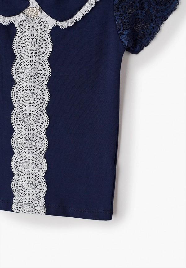 Блуза Соль&Перец цвет синий  Фото 3