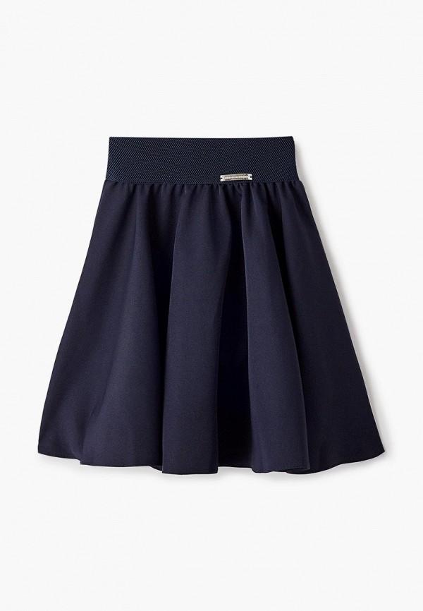 юбка соль&перец для девочки, синяя
