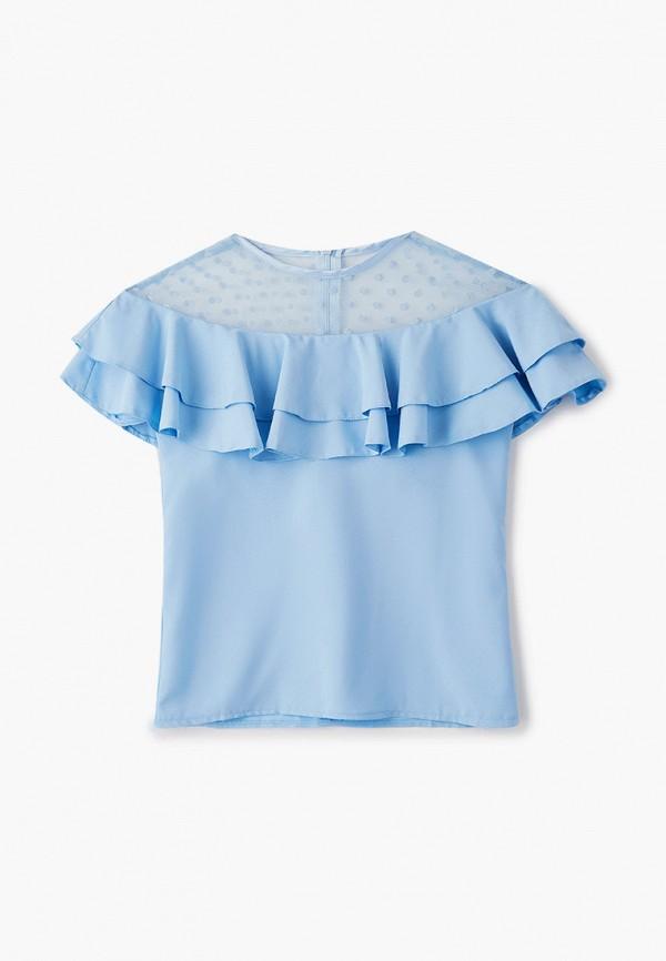 Блуза Соль&Перец цвет голубой