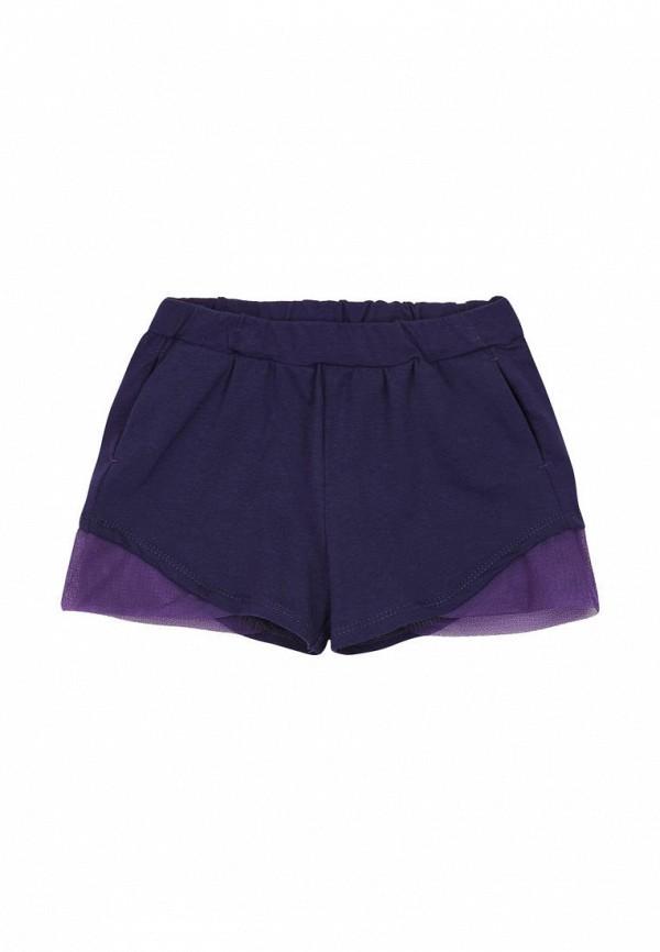шорты ля-ля для девочки, фиолетовые