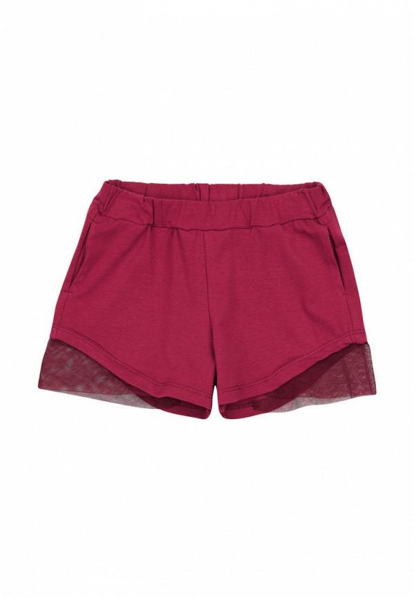 шорты ля-ля для девочки, бордовые
