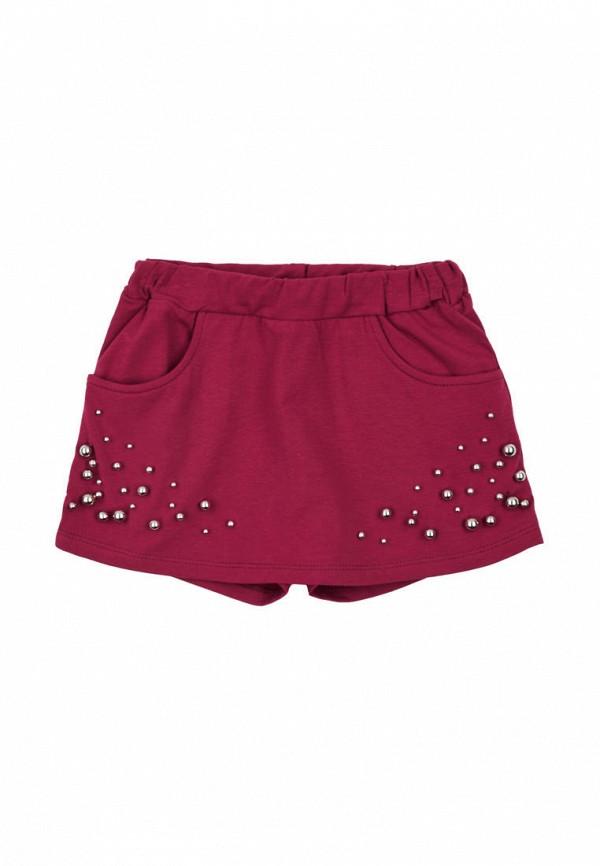 юбка ля-ля для девочки, бордовая