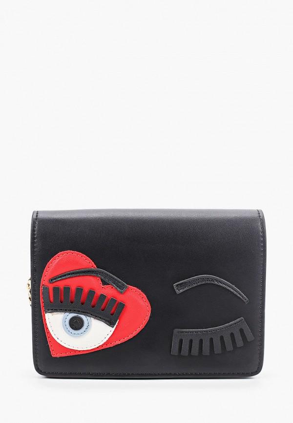сумка vitacci для девочки, черная