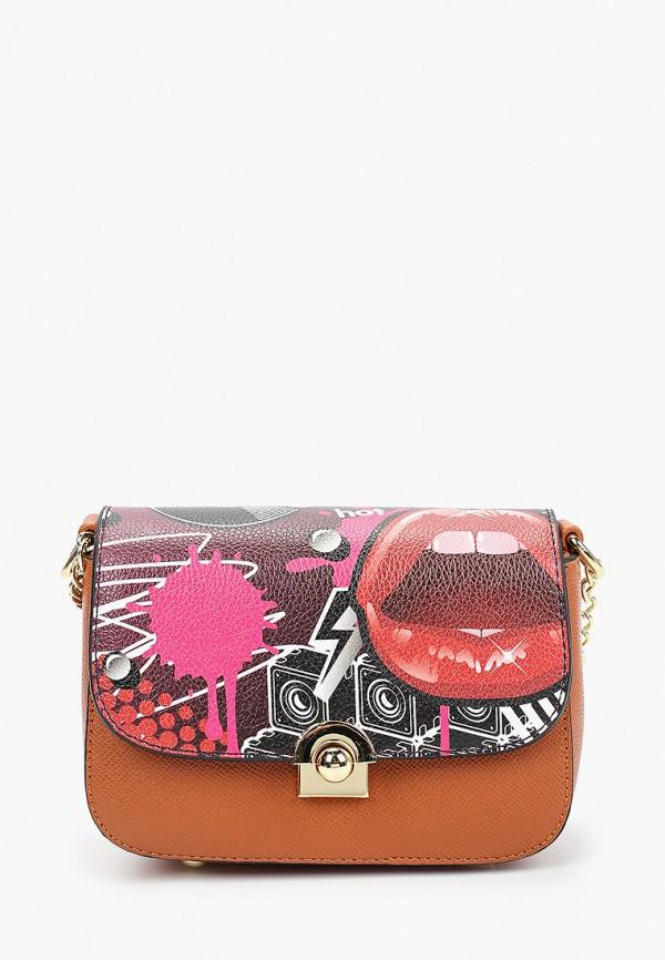 сумка vitacci для девочки, коричневая
