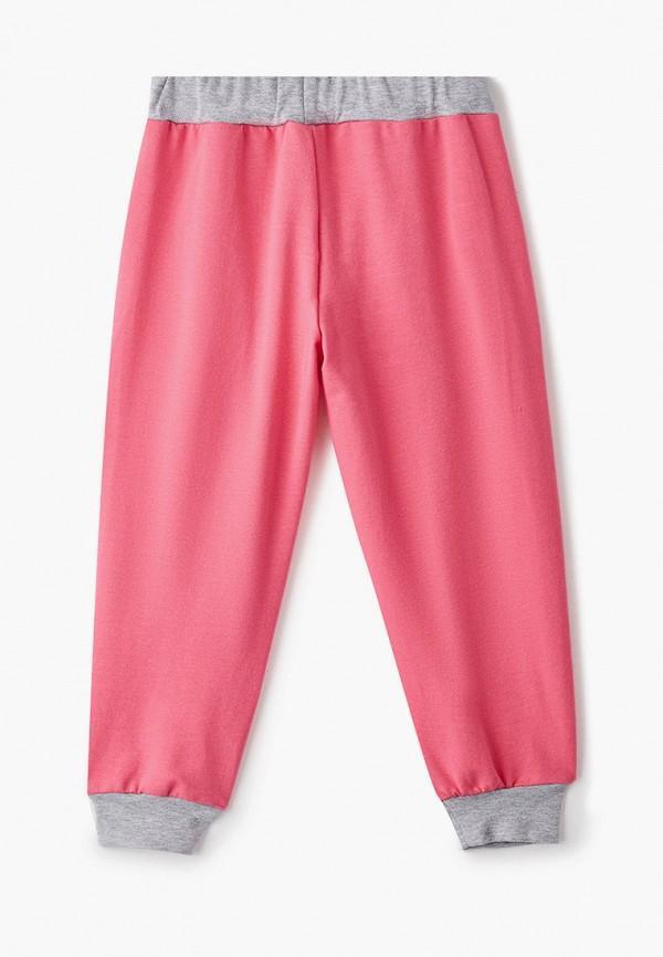 Брюки для девочки КотМарКот цвет розовый  Фото 2