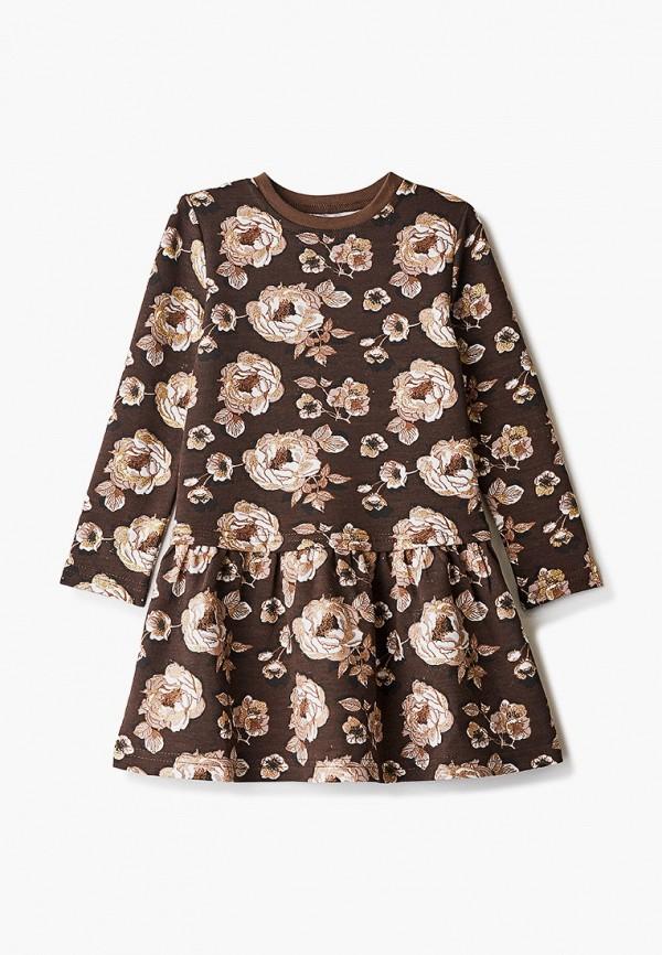 Платья для девочки КотМарКот цвет коричневый