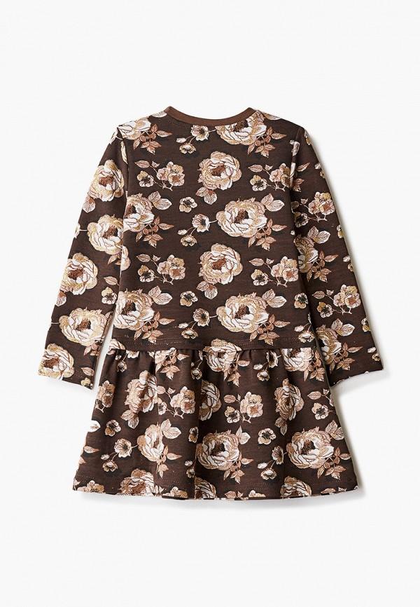 Платья для девочки КотМарКот цвет коричневый  Фото 2
