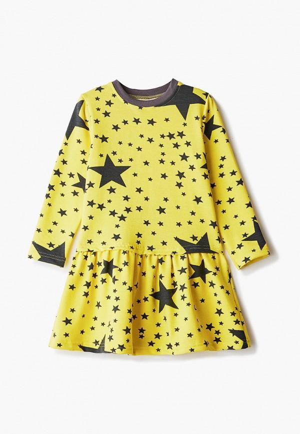 Платья для девочки КотМарКот цвет желтый