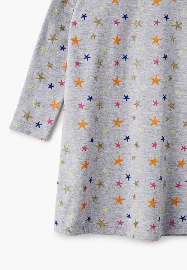 Платья для девочки КотМарКот цвет серый  Фото 3