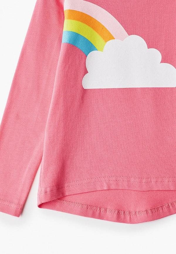 Лонгслив для девочки КотМарКот цвет розовый  Фото 3