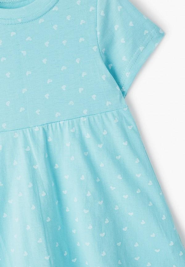 Платья для девочки КотМарКот цвет бирюзовый  Фото 3