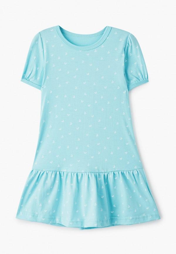 Платья для девочки КотМарКот цвет бирюзовый