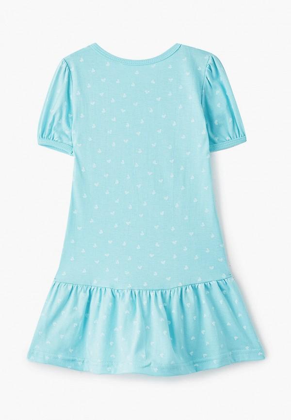 Платья для девочки КотМарКот цвет бирюзовый  Фото 2