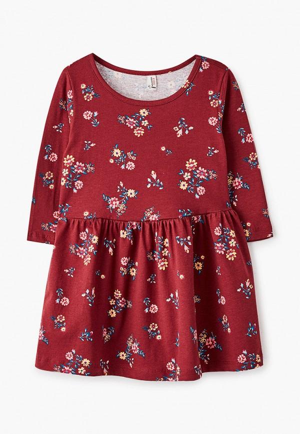 Платья для девочки DeFacto цвет бордовый