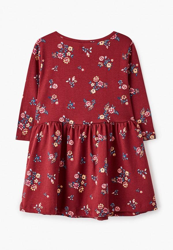 Платья для девочки DeFacto цвет бордовый  Фото 2