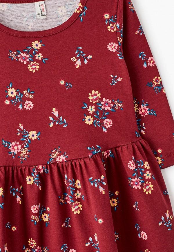Платья для девочки DeFacto цвет бордовый  Фото 3