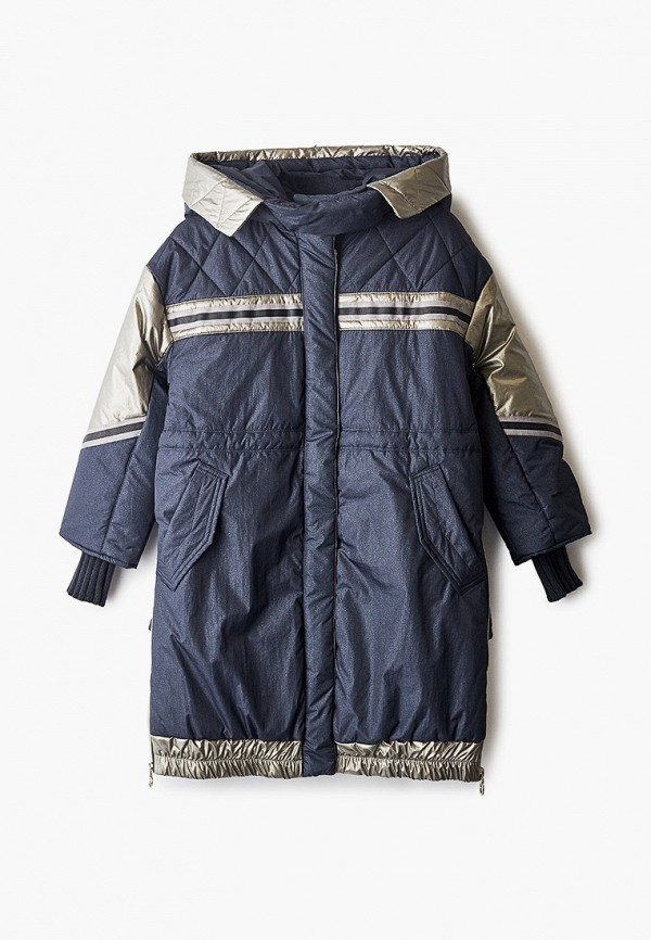 Куртка для девочки утепленная Mes ami цвет синий
