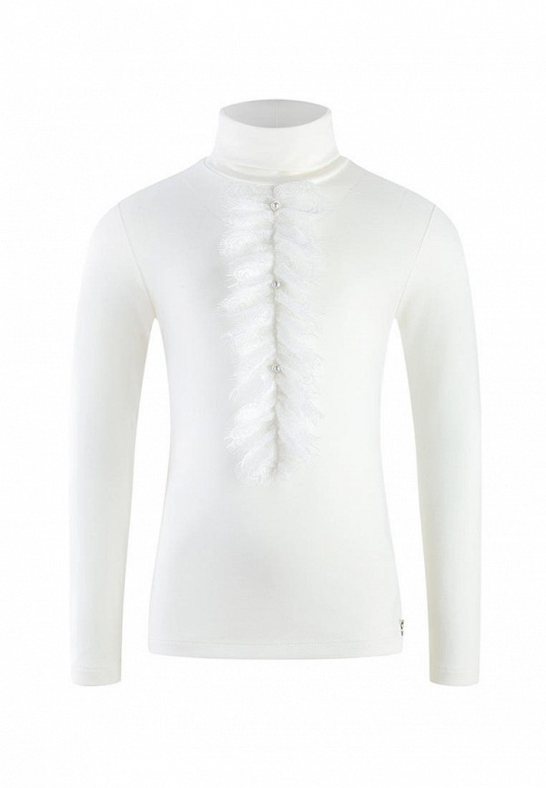 Водолазка для девочки DanMaralex цвет белый
