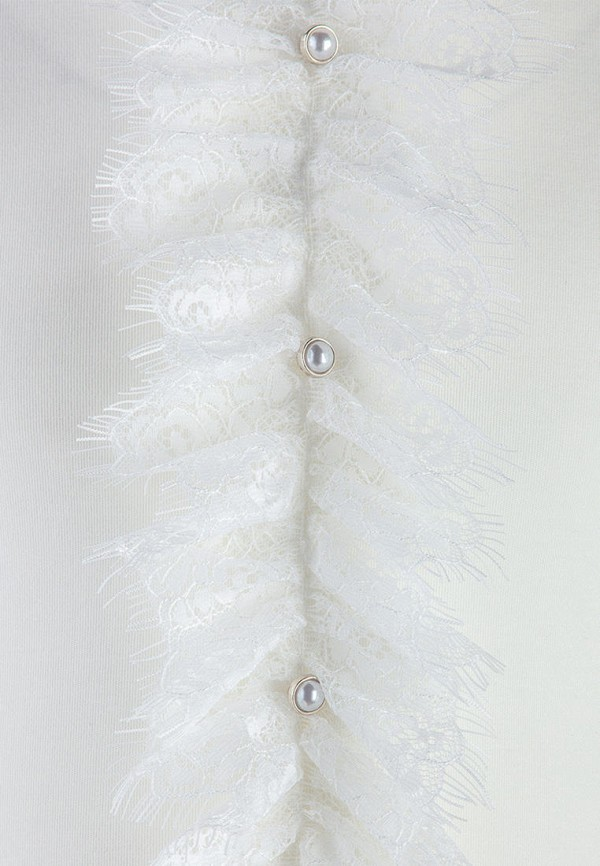 Водолазка для девочки DanMaralex цвет белый  Фото 3